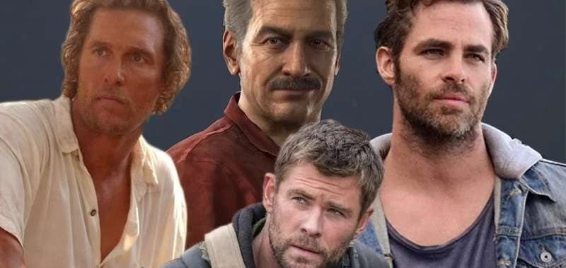 Film Uncharted. Chris Hemsworth lub Matthew McConaughey jako Sully?