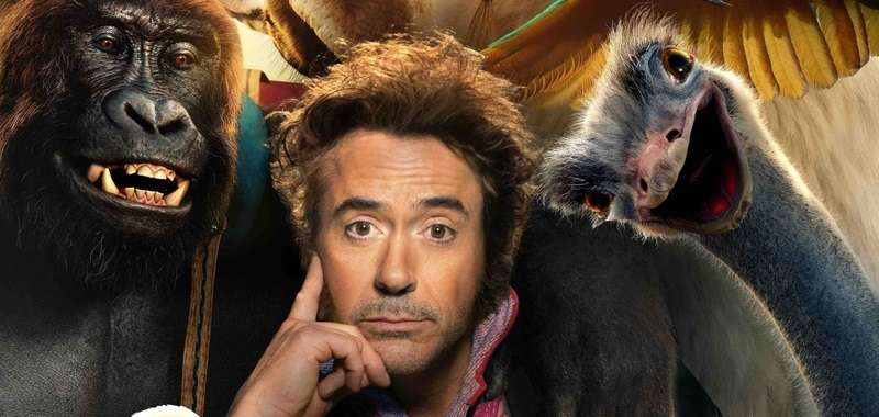 Robert Downey Jr. jako Dolittle