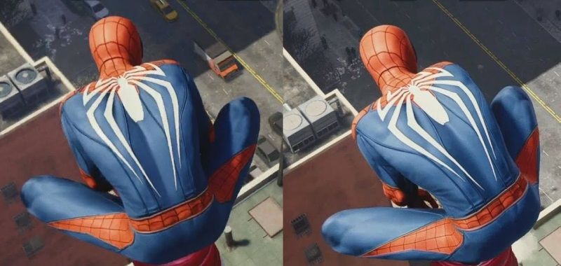 Spider-Man Remastered PS5 vs Spider-Man PS4