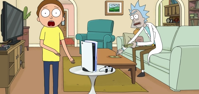 PS5 x Rick and Morty