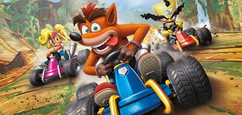 Crash Team Racing Nitro Fueled art