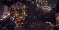 Brumak z Gears of War w Monster Hunter: World?