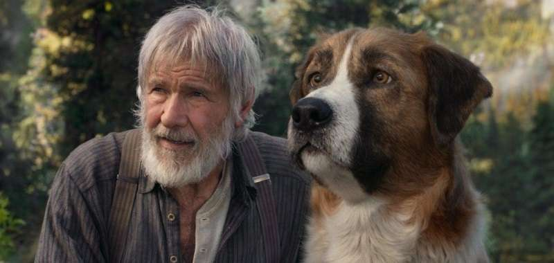 The Call of the Wild Harrison Ford i jego pies