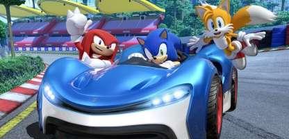 Team Sonic Racing bez DLC i mikrotransakcji