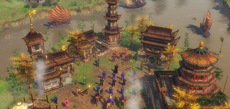 Age of Empires 3 Definitive Edition na Gamescomie