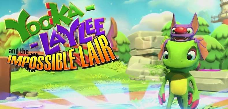 Yooka-Laylee and the Impossible Lair na banerze