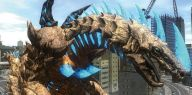 Godzillopodobne stwory walczą z mechami na zwiastunie Earth Defense Force 4.1: The Shadow of New Despair