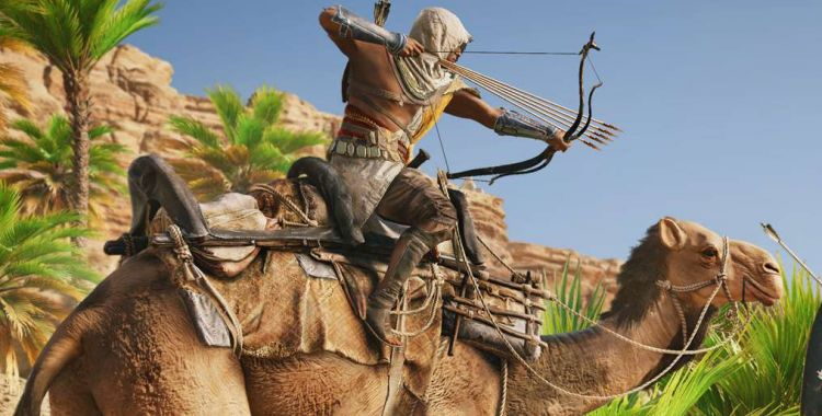 Assassin's Creed Origins z lootboksami