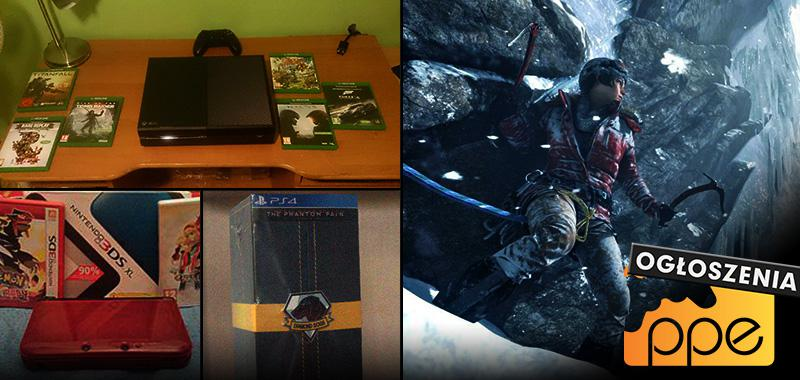Ogłoszenia - Xbox One, PS Super Slim, New Nintendo 3DS, Dying Light, Rise of the Tomb Raider