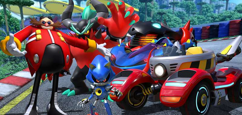 Team Sonic Racing - 10 minut z wersją na Switcha