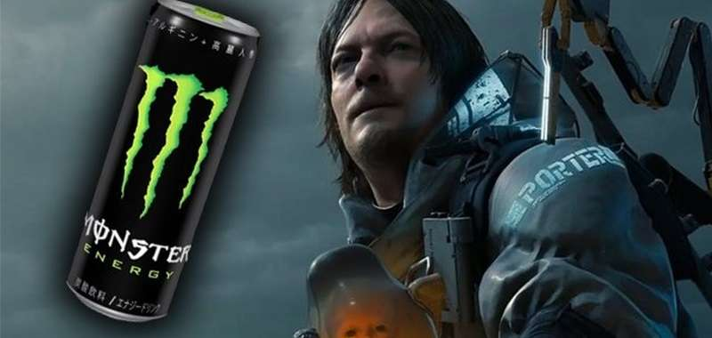 Death Stranding Monster Energy