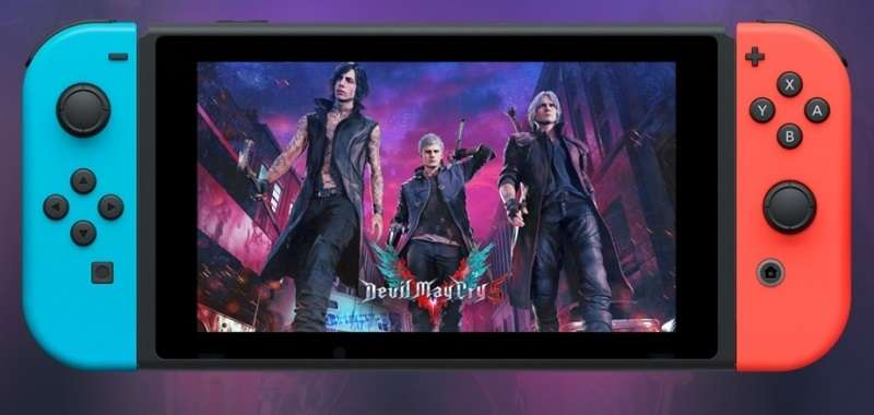 Devil May Cry 5 Switch