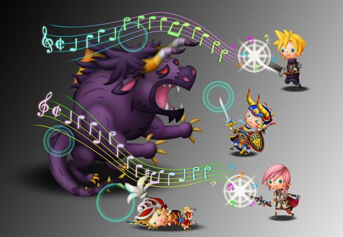 Theatrhythm Final Fantasy trafi na Zachód
