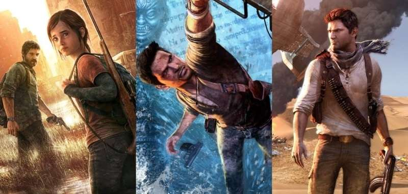 Uncharted 2 Uncharted 3 The Last of Us