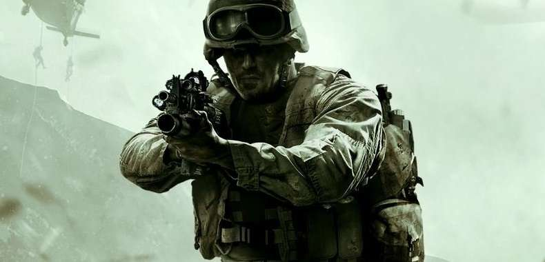Żołnierz z Call of Duty: Modern Warfare Remastered