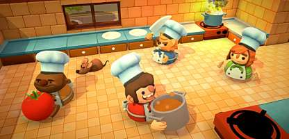 Overcooked straszy frameratem na Nintendo Switch