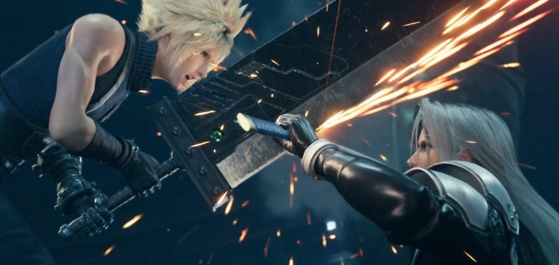 Final Fantasy VII Remake premiera - Cloud vs Sephiroth