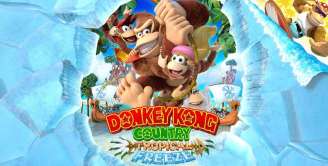 Donkey Kong Country: Tropical Freeze z nowym zwiastunem