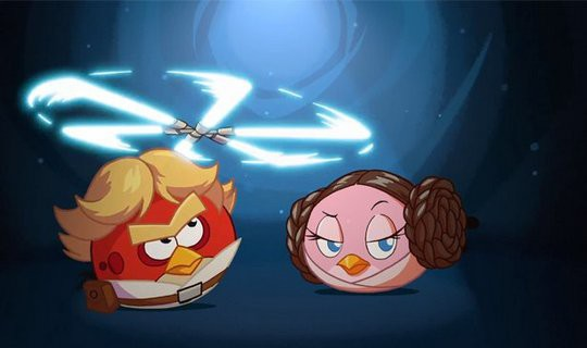 Angry Birds Star Wars i gameplay