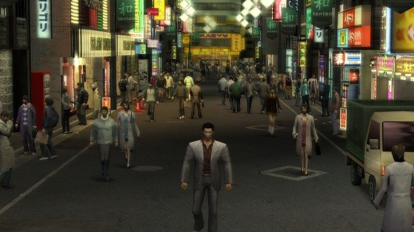 Yakuza 1 & 2 HD - PS3 vs WiiU