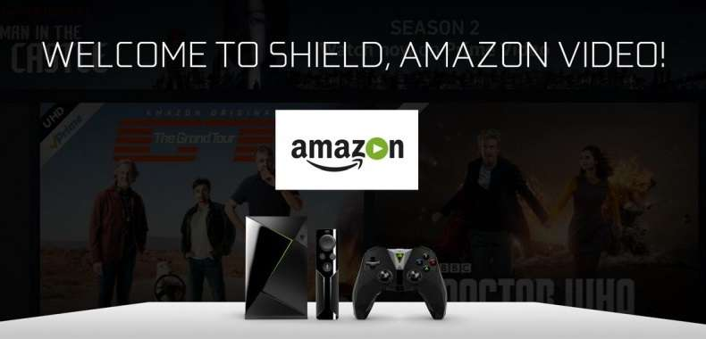 Amazon Prime Video na NVIDIA SHIELD