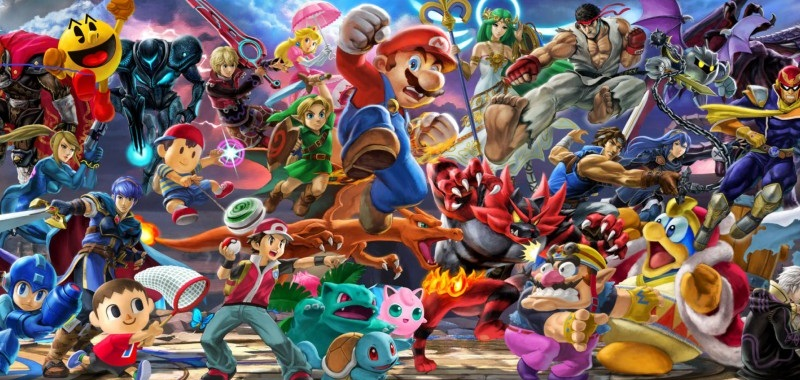 Postacie z Super Smash Bros. Ultimate